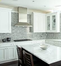white glass tile backsplash kitchen kitchen magnificent glass kitchen backsplash white cabinets grey