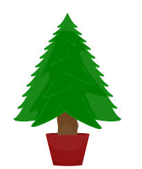 bare christmas tree clipart clipartxtras