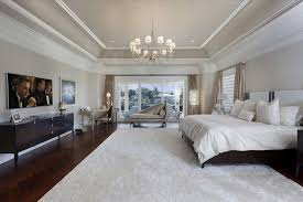master bedroom with high ceiling u0026 carpet in boca raton fl
