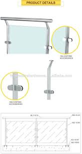 Banister Marine Easy Installation Deck Railing Marine Stainless Steel Handrail