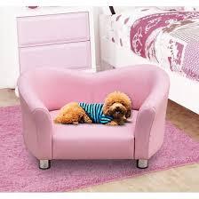 canapé lit pour chien canapé lit pour chien avec accoudoir et dossier pu 67x41x39cm
