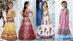 latest baby party wear dresses and gowns india kids girls
