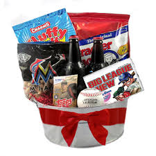 baseball gift basket ballpark snacks gift basket baseball gift