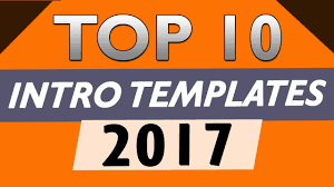 top 10 free intro templates 2017 after effects cs6 cc no plugins