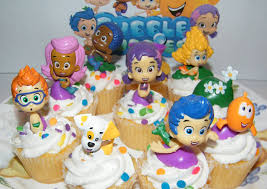 amazon com nickelodeon bubble guppies deluxe figure set of 10