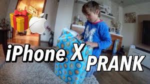 iphone x birthday prank youtube