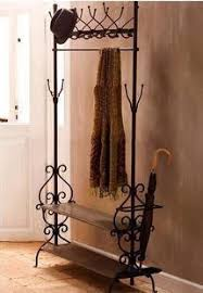 iron hangers umbrella stand bedroom living room floor coat rack