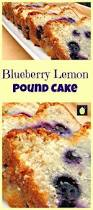 moist blueberry lemon pound cake lovefoodies