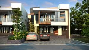 Residential Building Elevation by 3d Landscape Rendering 3d Architectural Animation Youtube