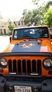 mountain jeep decals xt graphics wrangler bio hazard hood decal matte black j101432