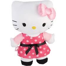 hello kitty love my dots pillow buddy pink walmart com