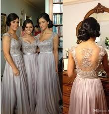 silver bridesmaid dresses 2018 cheap silver prom dresses bridesmaid dresses lace