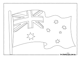 australian flag clipart black and white clipartsgram com