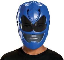 blue ranger movie 2017 vacuform mask child by disguise ebay