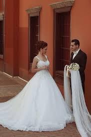 beautiful spaghetti strap crystal ball gown wedding dress new
