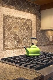 diy kitchen backsplash above stove project glossy green kettle stoned kitchen backsplash designs modern sto