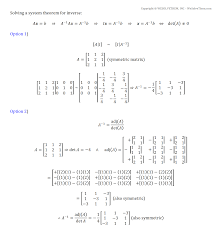 Matrix Worksheets 3x3 Matrix Calculator System Of Equations Image Gallery Hcpr