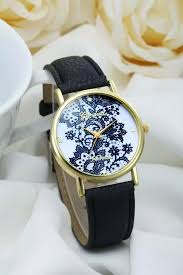 vintage leather bracelet watches images Lace watch black leather watch leather watch bracelet watch jpg