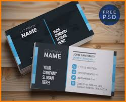 11 business card template photoshop introduction letter