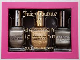 deborah lippmann and juicy couture collaborate for holiday 2011