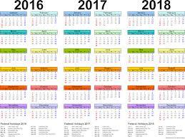 printable calendar queensland 2016 2018 printable calendar pdf free download 2016 2017 2018 calendar