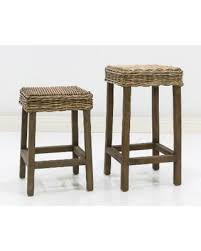fall sale somette hayes indoor outdoor rattan counter bar stool