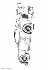 lexus lfa gt3 sports car coloring pages