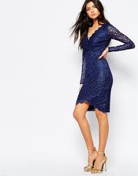 lipsy michelle keegan loves lace scallop body conscious dress with