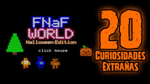 five nights at freddy s halloween update fnaf world versus on fnaf us fnaf4 halloween edition custom night