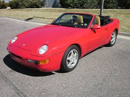 red porsche convertible porsche 968 for sale 1994 in guards red
