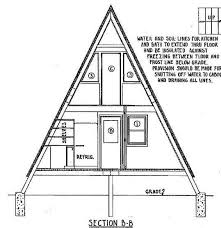 a frame house floor plans skillful small a frame house plans design blueprint