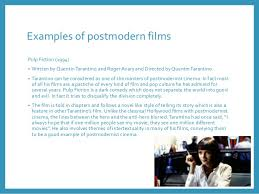 postmodern themes in film postmodernism and film