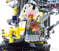 lego technic sets lego bucket wheel excavator review biggest technic set ever
