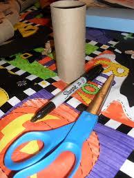 Halloween Toilet Paper Roll Crafts by Eerie Eyes U2013 Tasteful Space