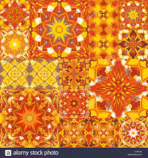 seamless patchwork background ornament motifs colorful