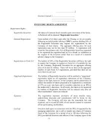 Term Sheet Template Sle Term Sheet