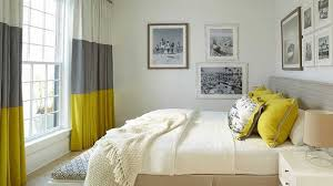 Yellow Bedroom Curtains Modern Bedroom Curtain Ideas Collection And Stunning Grey Yellow
