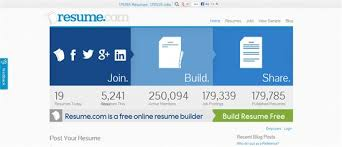 Build Resume Free Online by Create Professional Resume 15 Free Online Tools