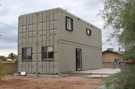 interesting design of the a house with shipping containers can be