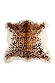 hautelook home decor faux hide area rug el paso leopard on hautelook future home
