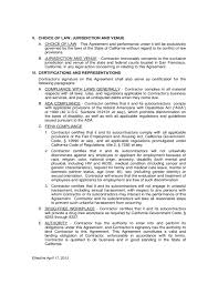 sample contract general contractor professional resumes example