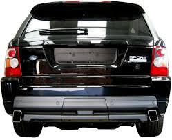 land rover 2007 black hst exhaust tips for range rover sport supercharged petrol