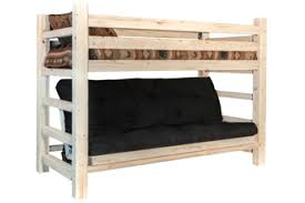 amish bunk bed bunk bed over futon amish furniture factory