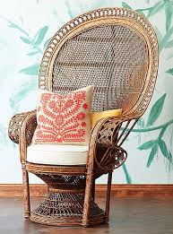 Cane Peacock Chair For Sale Materials Guide Decorating With Wicker Raffia And Rattan
