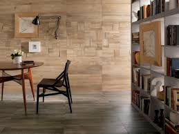 Enjoy The Warmth And Beauty Of Wood Wood Tiles Hum Ideas - Living room wall tiles design