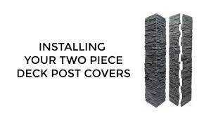 Faux Stone Post Sleeves by Faux Entrance Walls Faux Knee Walls Fence Post Covers Faux