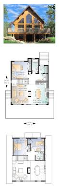 a frame floor plans a frame house plan 76407 total living area 1301 sq ft 3