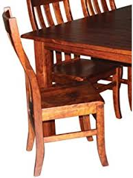 amazon com aspen tree interiors amish made 9 piece solid wood