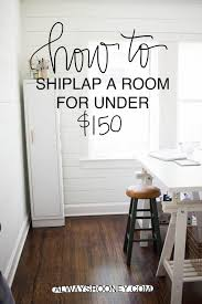 always rooney how shiplap room for under diy how shiplap room for under diy