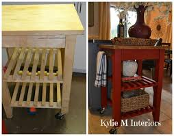 Kitchen Island Makeover Ideas 13 Best Ikea Bekvam Kitchen Cart Makeovers Images On Pinterest